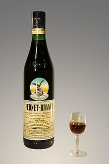 Fernet-Branca - Interesting bitter liqueur invented as a stomach medicine in 1845 Milan.  Contains 27 different herbs and the list is strange.