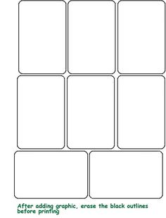 8 Best Images Of Blank Playing Card Printable Template For Word   Blank  Playing Card Template, Printable Blank Playing Cards And Printable Blank  Playing ...