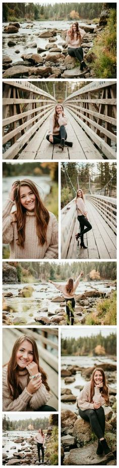 Ideas Photography Poses Natural Senior Girls For 2019 Fall Senior Portraits, Fall Senior Pictures, Photography Senior Pictures, Senior Photos Girls, Senior Picture Outfits, Senior Portrait Photography, Nature Photography, Senior Pics, Senior Session
