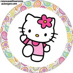 Hello Kitty Birthday Kit - Invitations, boxes, labels, images & more. X