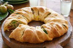 an appetizer to balance the sweets crescent roll, easi bake, bake chees, food, vegetables, recip, cream, green onions, parti