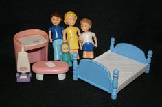 Vintage LITTLE TIKES Dollhouse Furniture Childu0027s DESK U0026 Artist Art Chalk  EASEL | Little Tikes Play Toys | Pinterest | Dollhouse Furniture And  Childhood