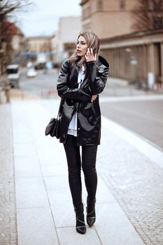black-raincoat berlin streetstyle stutterheim sly010 outfit kanye west