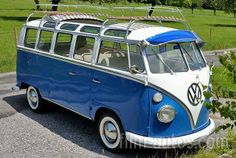 1963 VW T1 Bus Samba