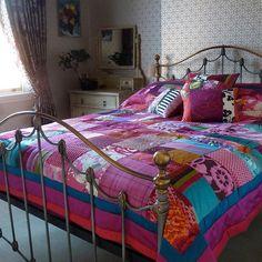Portfolio / Suzy Newton patchwork quilt