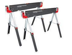 Sawhorses, invaluable assistant in your workshop