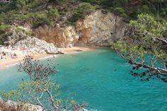 Cales (coves) around Tossa de Mar - Costa Brava, Catalonia. Places To Travel, Places To Go, Portugal, Beautiful Places, Barcelona, Around The Worlds, Earth, City, Water