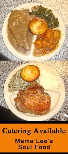 Mama Lee's Soul Food    http://www.mamaleessoulfoodtx.com/