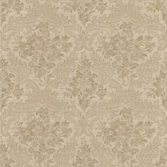 Product Description Simply Satin VI Cotswold Floral Damask Sand Wallpaper 990-65061 - A dreamy floral damask design in raised prints superimposed on a hazy backdrop. Cultured and refined in form for t