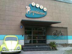 Restaurante Riquísimo. Concepción. Chile Driftwood, Chile, Neon Signs, Shells, Restaurants, Drift Wood, Chili