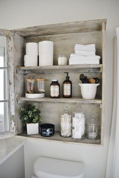 Great DIY Bathroom Cabinet