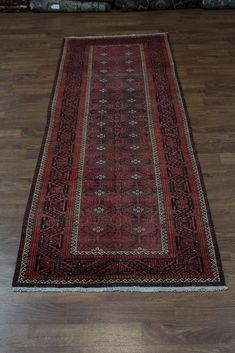 4 x 11 $301 Kitchen Rug, Persian Rug, Oriental Rug, Rugs On Carpet, Bohemian Rug, Antiques, Red, Handmade, Persian Carpet