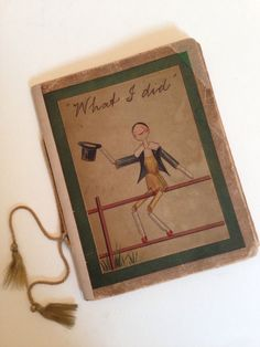 What I DID BY Kathleen Ainslie Antique PEG Wooden Doll Lithograph Book 1907 | eBay