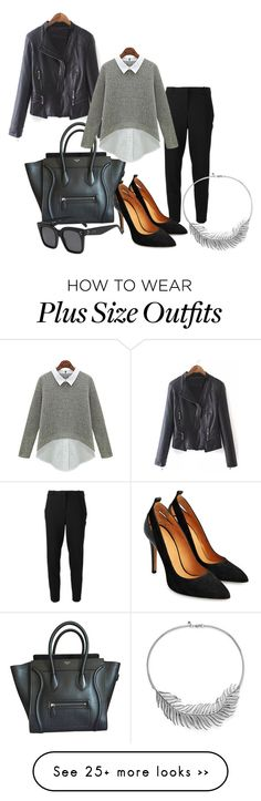 """"""":*"""" by jelaxoxo on Polyvore featuring MICHAEL Michael Kors, CÉLINE and Rebecca Minkoff"""