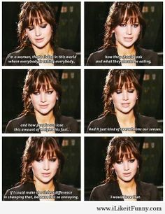 Jennifer Lawrence tv quotes Jennifer Lawrence   tv quotes