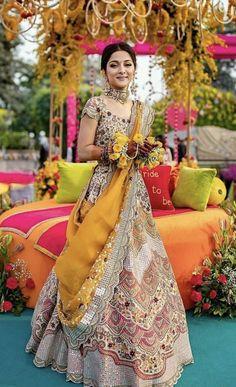 Indian Bridal Outfits, Indian Designer Outfits, Indian Dresses, Bridal Dresses, Designer Dresses, Designer Wear, Lehnga Dress, Lengha Choli, Anarkali