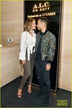 Chrissy Teigen & John Legend Have Picture-Perfect Date Night