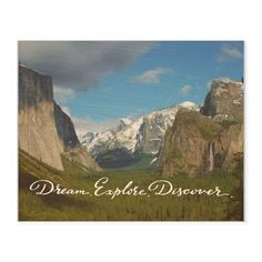 Dream Journey Wood Wall Art, Single piece, 8 x 10 inches, White