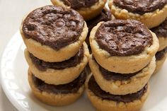 Peanut butter fudge tartlets
