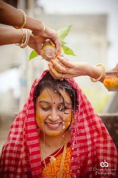 Indian wedding, haldi ceremony, bengali wedding rituals, Indian wedding photography by dream artisans photography