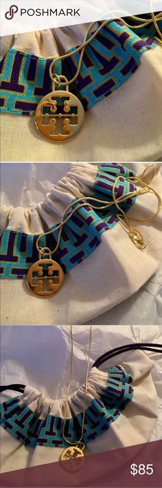 """NWOT 💯% Authentic Tory Burch 20"""" Charm Necklace NWOT- 💯% Authentic Tory Burch 20"""" Charm Necklace. Very nice length that can be worn with multiple outfits. Can also be worn everyday or dressed up for a night out. Comes with a lobster claw clasp. Just a gorgeous simple necklace that can really be worn with anything as you can see from the photos. Comes with original dust bag and is brand new. If you have any questions or would like additional pics please feel free to ask 😊 Tory Burch…"""