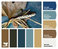 Paint colors from Chip It! by Sherwin-Williams  (boys room)  -- like the blue!!