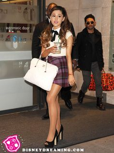 "Disney Dreaming is a blog keeping tabs on the network's young stars. Ariana Grande, techs, is on Nick's ""Sam and Cat,"" but is connected to Selena Gomez like this: She too had a mike malfunction at Jingle Balls, but didn't have the balls to cough up a furball."