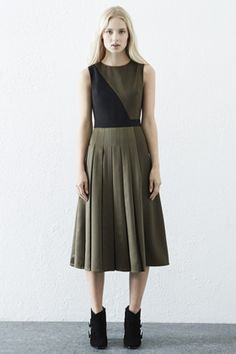 Check out this Pleat Detail Midi Dress from Warehouse.