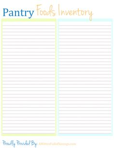 Printable Bi Weekly Planner Template   Budget Notebook Ideas