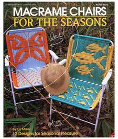 for the real vintage lovers... macrame chairs - I think this might be fun...