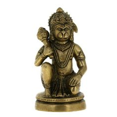 Hindu God Statue Hanuman Devotee Of Lord Rama Figurine Indian 5 Inches by ShalinIndia, http://www.amazon.com/dp/B001DCGJH2/ref=cm_sw_r_pi_dp_W1egsb0T7F4V7