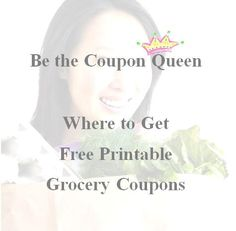 Where to Get Free Printable Grocery Coupons