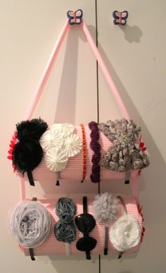 Idea para ordenar bandas y cintillos para el cabello | Ideas para Decoracion