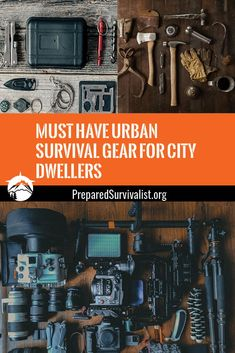 Survival is commonly associated with the wilderness and most TV shows and sites focus on skills and items you need outdoors. That's probably why most people tend to ignore the importance of being prepared in a city. Instead of worrying about surviving in the wild, we should focus more on learning survival skills and being prepared for emergencies in our own cities. Urban Survival, Wilderness Survival, Survival Tools, Survival Prepping, Emergency Preparedness, Survival Hacks, Survival Life, Bushcraft Kit, Bushcraft Skills