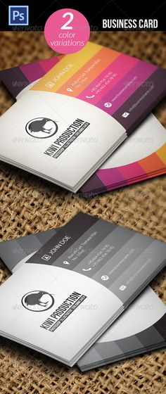 #Business #Card - Business Cards #Print Templates