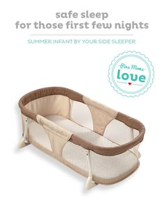 Make co-sleeping a safer option with the Summer Infant By Your Side sleeper.