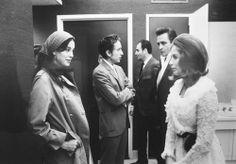 Sara Dylan with husband, Bob. June Carter Cash with husband, Johnny