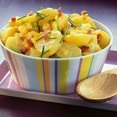 Kartoffelsalat mit Speck Rezept   Küchengötter