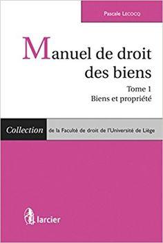 Manuel de droit des biens / Pascale Lecoq ..