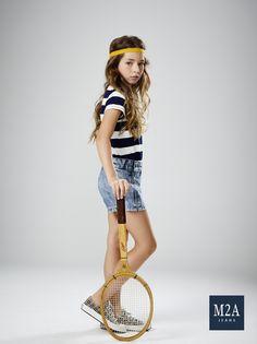 M2A Jeans | Fall Winter 2015 | Kids Collection | Outono Inverno 2015 | Coleção Infantil | shorts jeans infantil feminino; look infantil; denim kids.
