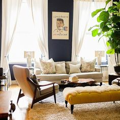 Dark yellow has a certain majesty to it. – Say Yes to Yellow Decor