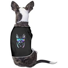 DJ Cat With Glasses Dog Tshirt >>> Continue to the product at the image link. (This is an affiliate link) #DogApparelAccessories
