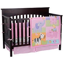 """for a girl-Jolie Jungle 8-Piece Crib Bedding Set - Triboro Quilt Mfg Co - Babies """"R"""" Us"""