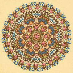 Print of Ariel Mandala by joypompeo