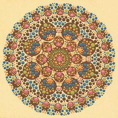 Print of Ariel Mandala by joypompeo on Etsy, $15.00