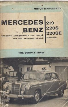 Star service cds and dvds mercedes repair manuals pinterest star mercedes benz w105 w128 219 220s 220se saloon cabrio coupe 1956 60 repair manual fandeluxe Choice Image