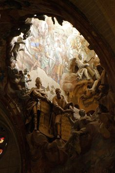 Óculo de la Catedral de Toledo