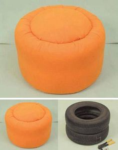Great Ottoman or extra seating Idea!!