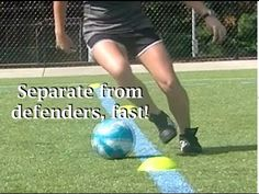 The Five Fundamental Soccer Moves and the Footwork Behind Them -. Best Picture For Soccer Workouts Soccer Training Drills, Soccer Drills For Kids, Soccer Workouts, Football Drills, Soccer Practice, Soccer Skills, Soccer Coaching, Soccer Tips, Kids Soccer