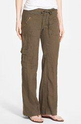KUT from the Kloth 'Grayson' Linen & Cotton Cargo Pants